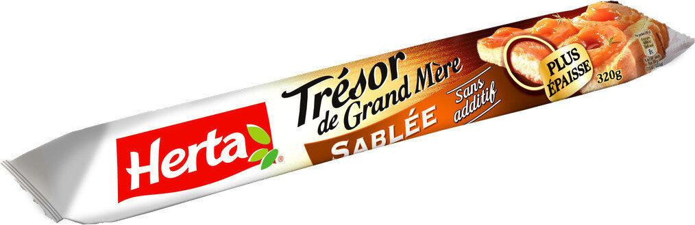 TRESOR DE GRAND MERE Pâte sablée - Product - fr