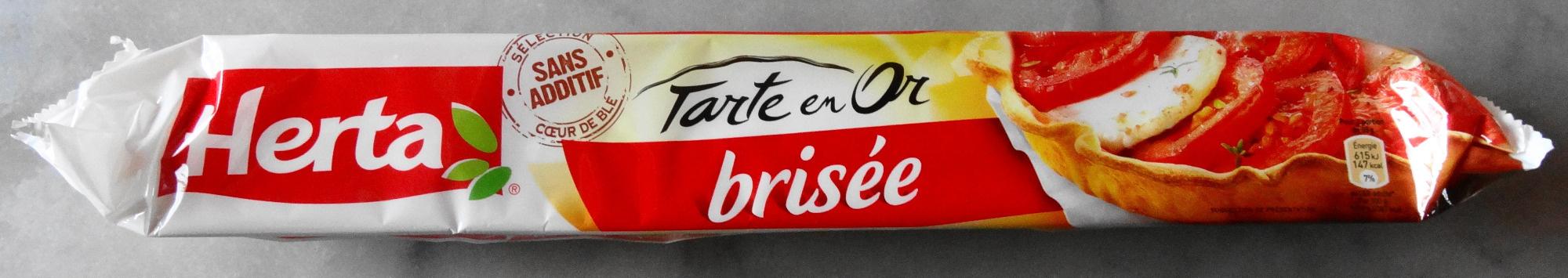 Tarte en Or, brisée - Product