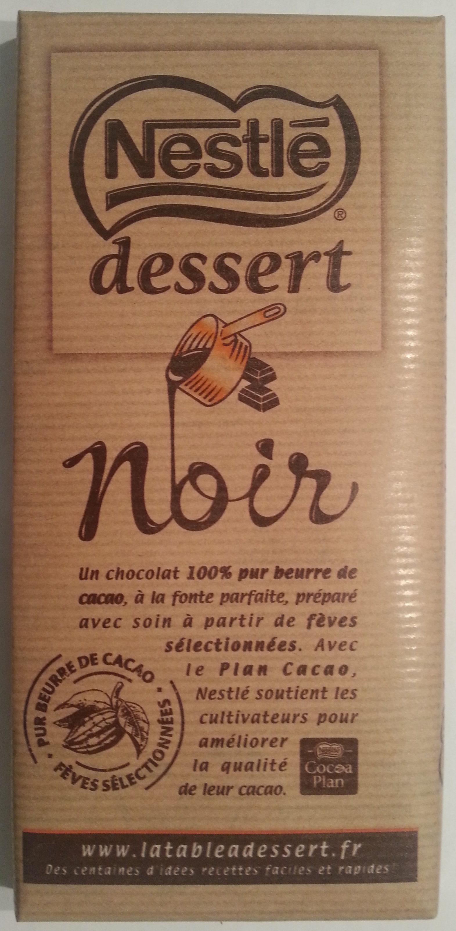 Chocolat noir dessert - Product