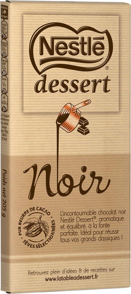 NESTLE DESSERT Chocolat Noir - Product - fr