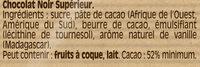 NESTLE DESSERT Noir 2X205g - Ingredients - fr
