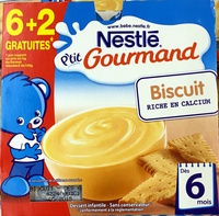 P'tit Gourmand Biscuit - Prodotto - fr