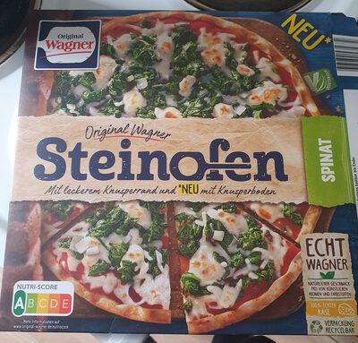 Steinofen Pizza Spinat - Produit - de