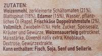 Steinofen Pizza Spinat - Ingrédients - de