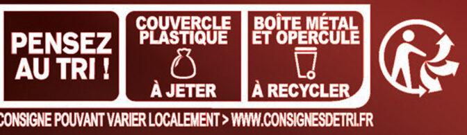 RICORE Noir Intense - Instruction de recyclage et/ou informations d'emballage - fr