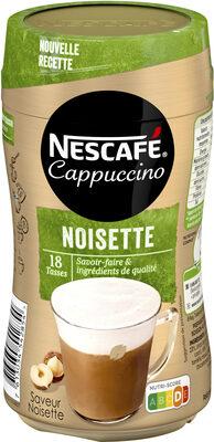 NESCAFE Cappuccino Noisette , Café soluble, Boite de - Produit - fr
