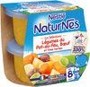NESTLE NATURNES Les Sélections Légumes du pot-au-feu Bœuf 2x200g -Dès 8 mois - Produto
