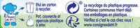 NESTLE NATURNES Les Sélections Petits Pots Bébé Epinards, Saumon aux petites pommes de terres -2x200g -Dès 8 mois - Istruzioni per il riciclaggio e/o informazioni sull'imballaggio - fr