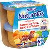 NESTLE NATURNES Les Sélections Petits Pots Bébé Pommes de terre, Bœuf à la tomate -2x200g -Dès 6 mois - Prodotto