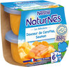 NESTLE NATURNES Les Sélections Petits Pots Bébé Douceur de carottes, Saumon -2x200g -Dès 6 mois - Produto