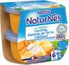 NESTLE NATURNES Les Sélections Petits Pots Bébé Carottes, Pommes de terre, Cabillaud -2x200g -Dès 6 mois - Produto