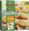 BUITONI PICCOLINIS mini-pizzas surgelées 3 Fromages 540g (18 pièces) - Produto
