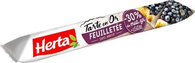 TARTE EN OR pâte feuilletée -30% de matière grasse - Product - fr