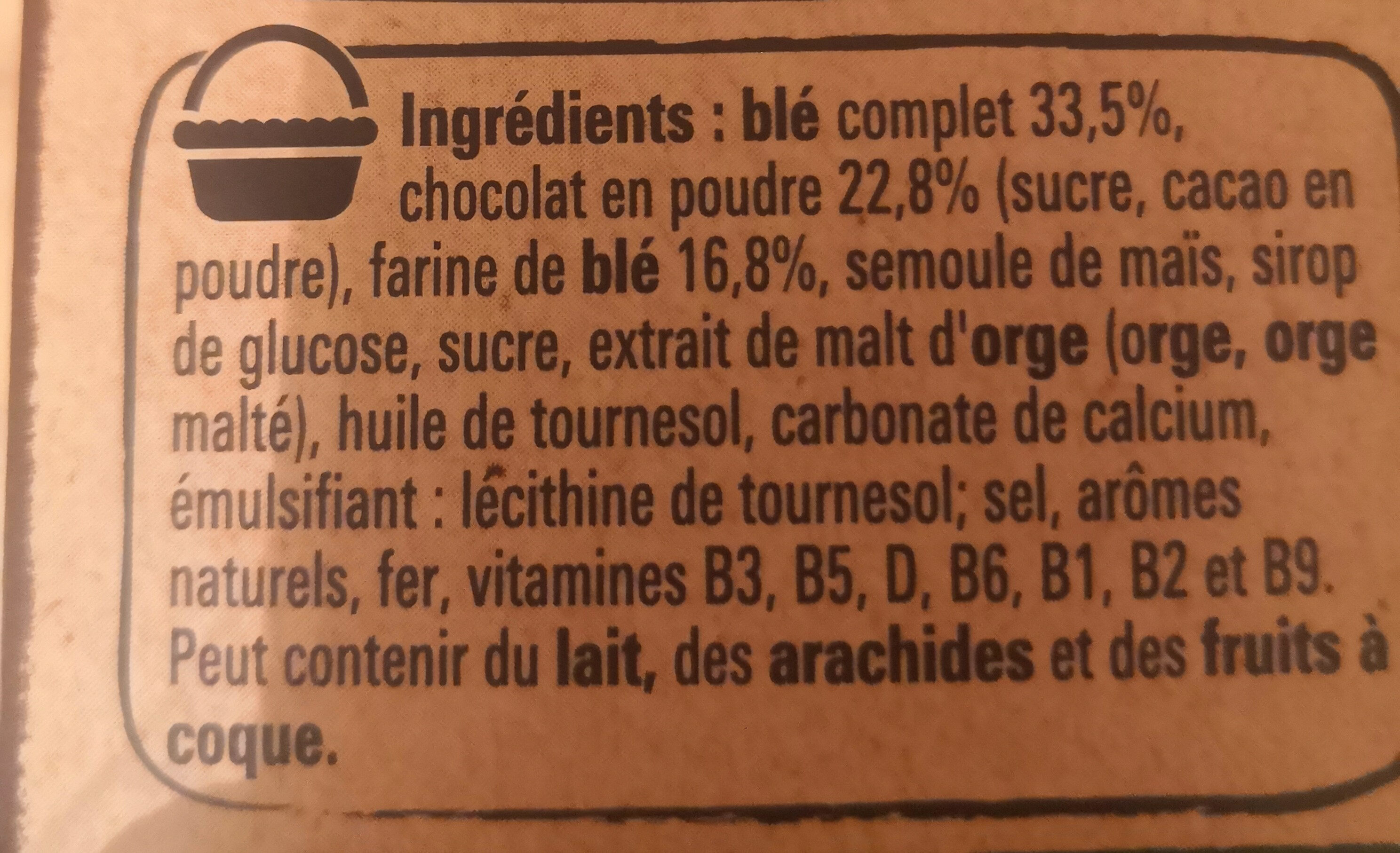 Chocapic - Ingredients - fr