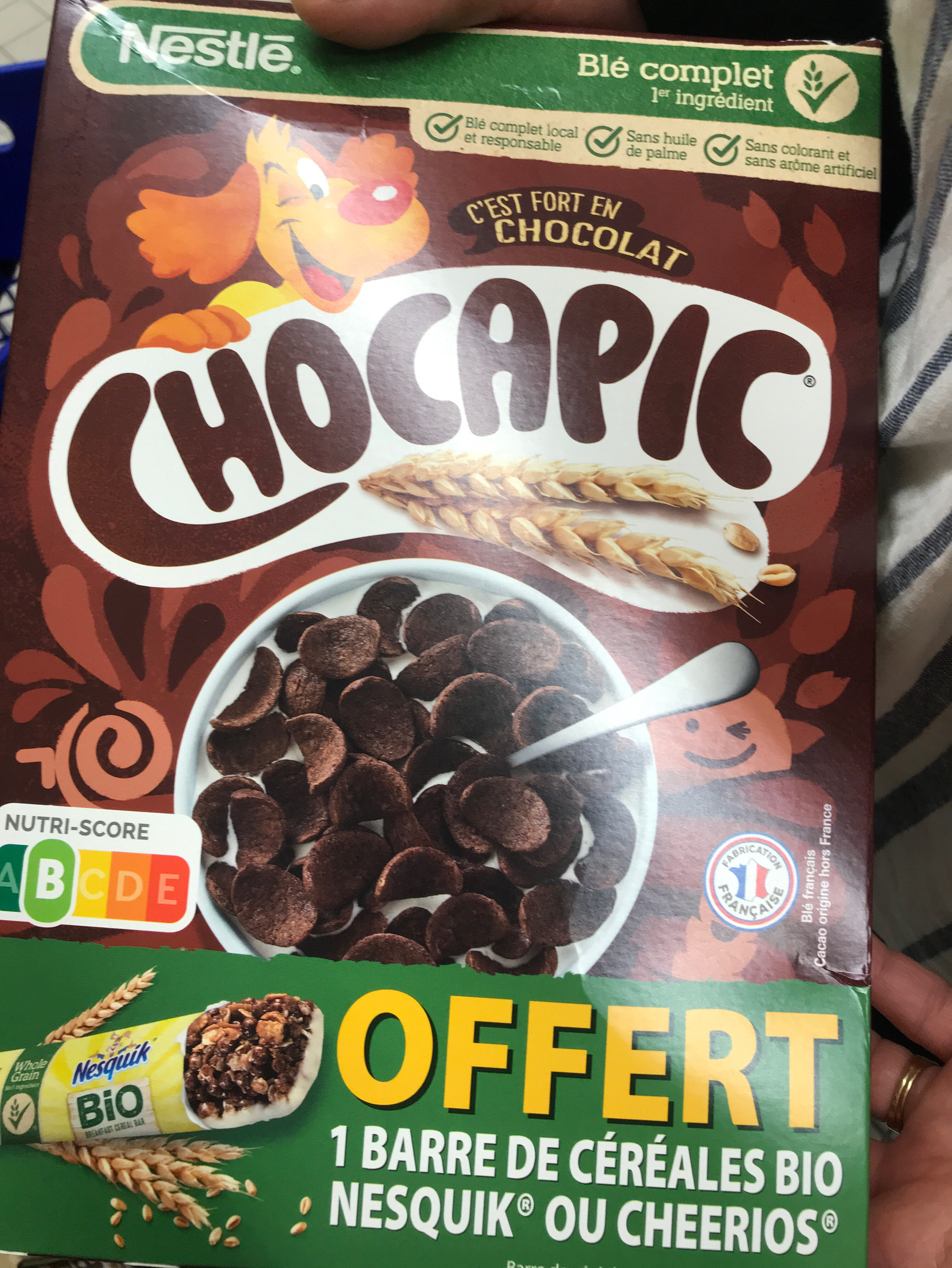 Chocapic - Ingredients - fr