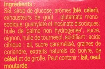 Kub Or, l'Original - Maggi - Ingrediënten - fr