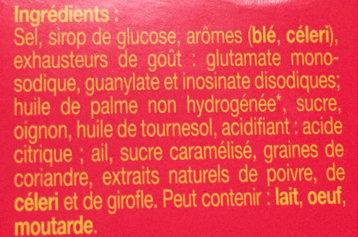 Kub or l 39 original maggi 128 g 16 x 2 cubes - Acide citrique leclerc ...
