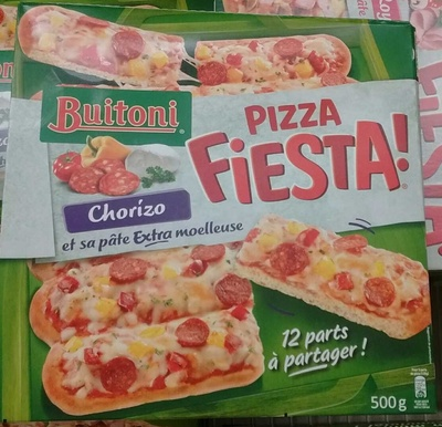 Pizza Fiesta! Chorizo - Product