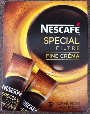 Spécial filtre fine crème - Product