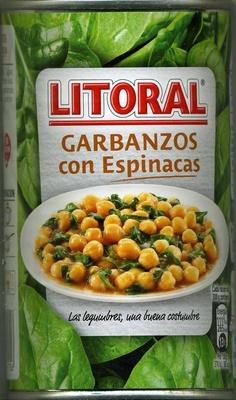 Garbanzos con espinacas - Product