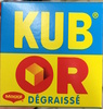 Kub Or dégraissé - Produit