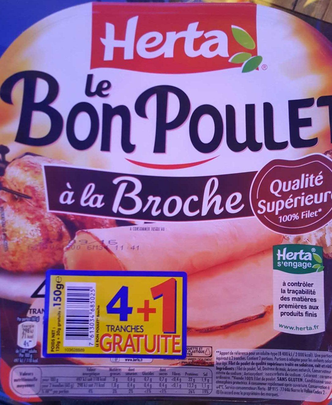 Le bon poulet à la broche - Produit