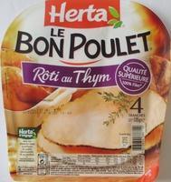 Le Bon Poulet, Rôti au Thym (4 Tranches) - Product - fr