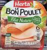 Le Bon Poulet Filet Nature - Produit