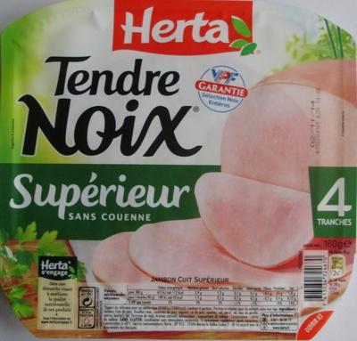 Tendre Noix, Supérieur Sans Couenne (4 Tranches) - Product - fr