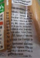 Knacki - Ingrediënten