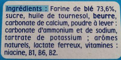 Mon 1er P'tit Biscuit - Ingredients - fr