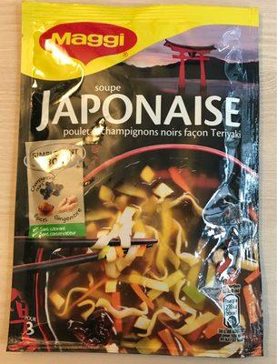 Soupe Japonaise (poulet & champignons noirs façon Teriyaki) - 18