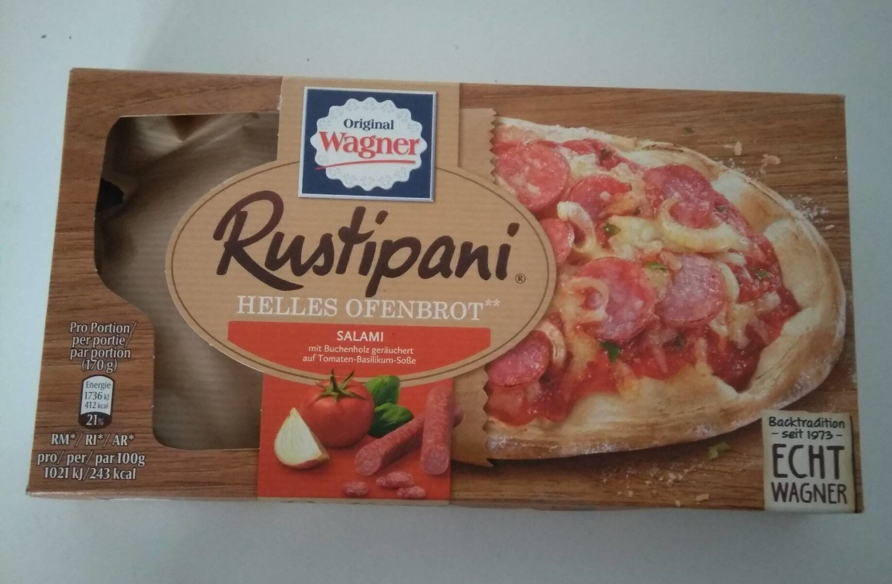 Rustipani Salami - Produkt - de