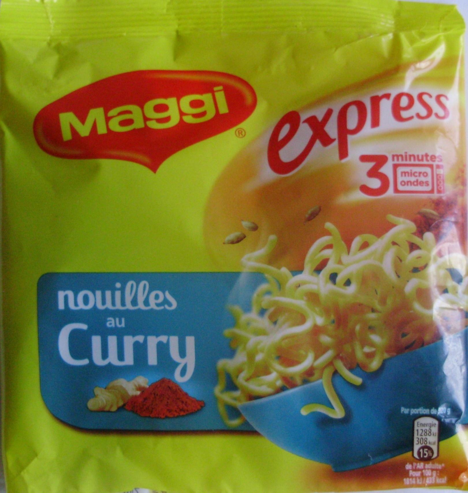 Nouilles au Curry - Product - fr