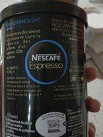 Nescafé Expresso Décaféïné - Informations nutritionnelles