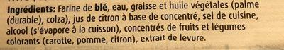 Pâte Feuilletée Rond -30% Mg 230 G - Ingredients - fr