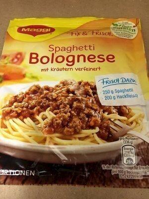 Spaghetti Bolognese - Produkt - de