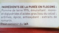 Mousline l'Originale - Ingredients - fr