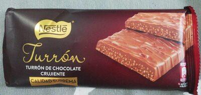 Turron chocolate crujiente