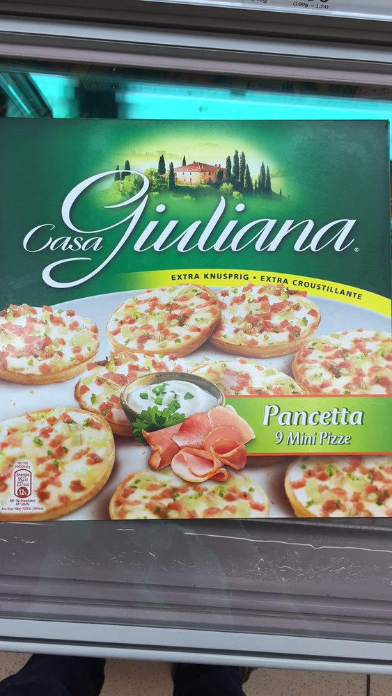 Pancetta 9 Mini Pizze - Product - fr