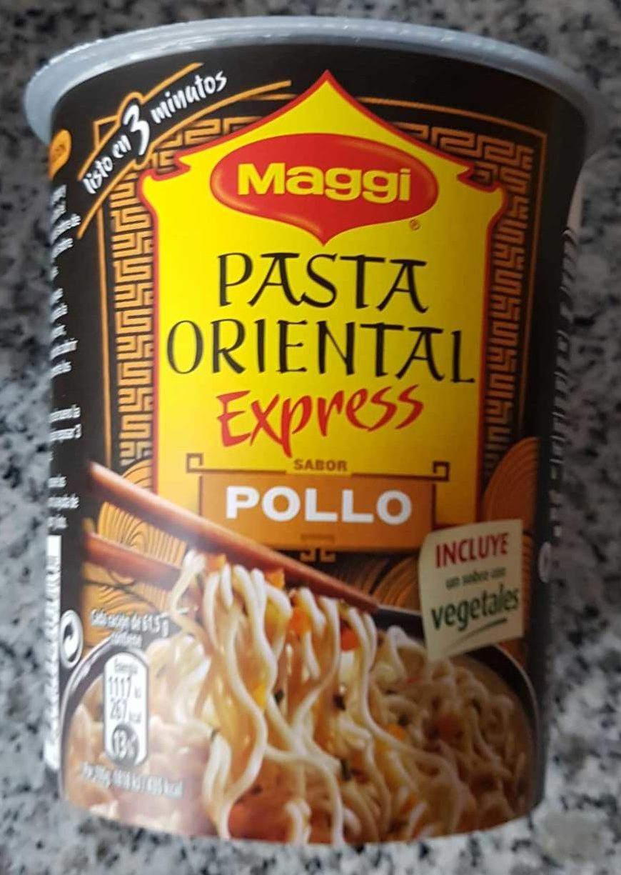 Pasta oriental express - Producte