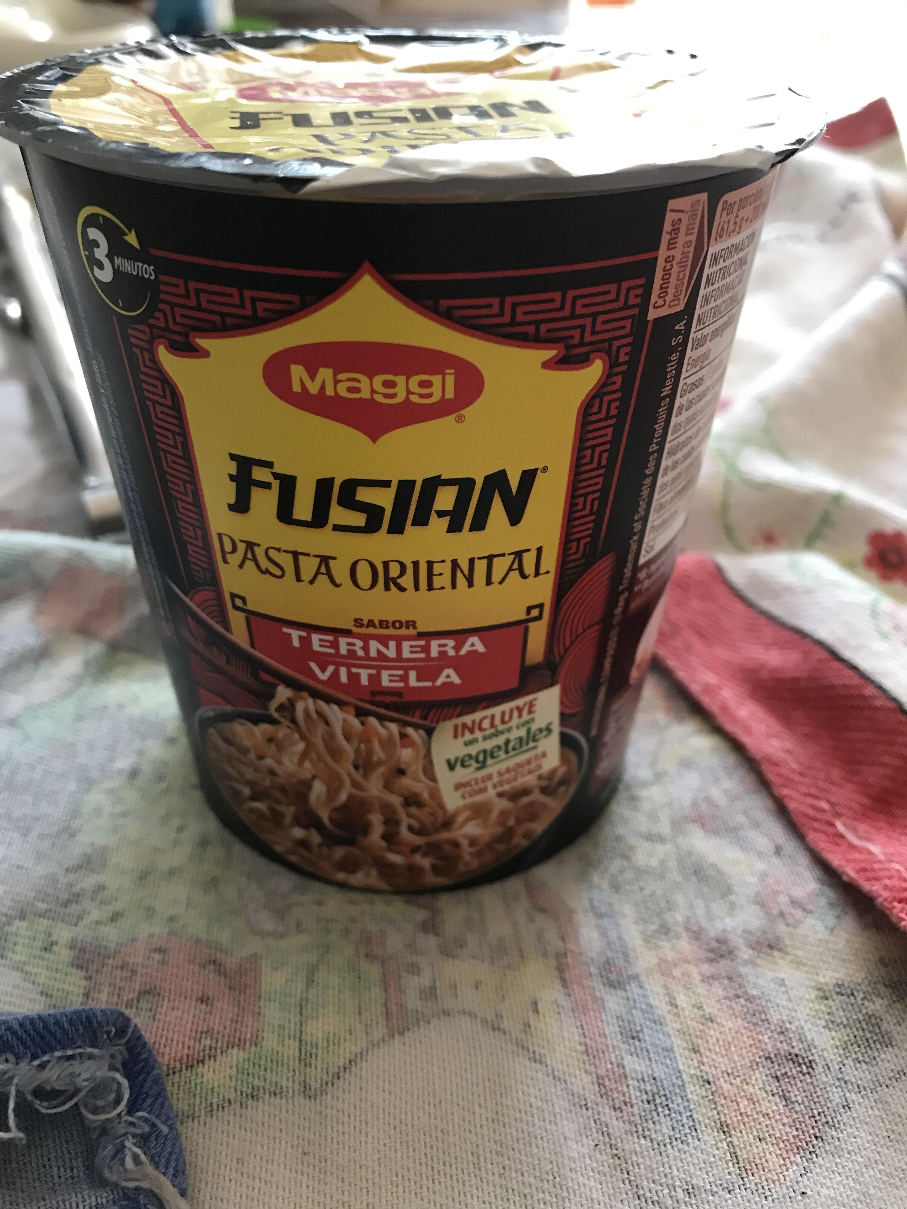 Pasta Oriental Vedella Cup Maggi Express - Product