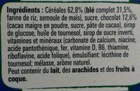 Nestle crunch cereales - Ingredienti - fr