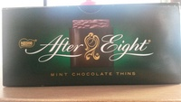 Mint chocolate thins - Producto - en