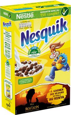 NESQUIK Céréales Petit Déjeuner - Product - fr