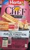 Tendre Croque Chef Poêlée Forestière Bacon Emmental - Produit