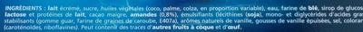 Extrême vanille de Madagascar - Ingredients
