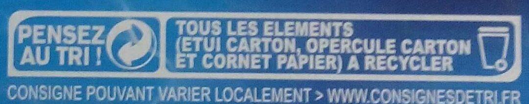 Extrême Chocolat - Instruction de recyclage et/ou informations d'emballage - fr