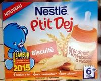 P'tit Dej Biscuité - Produit