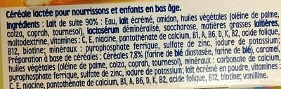 P'tit Dej Biscuité - Ingrédients